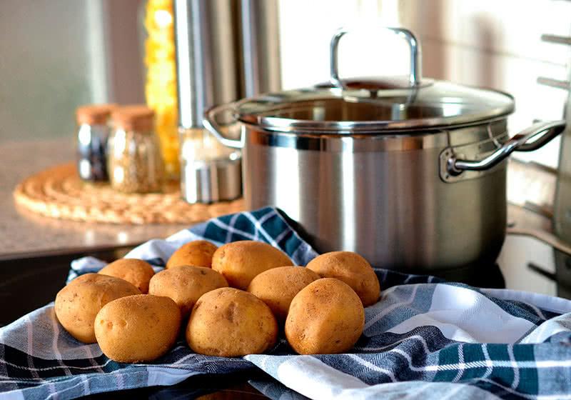 Ингаляция картофелем