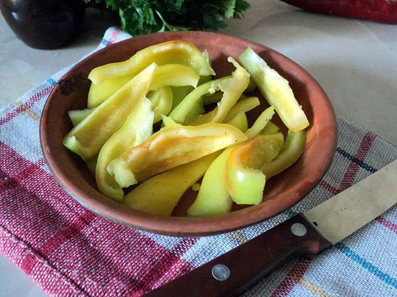 как замариновать помидоры с болгарским перцем