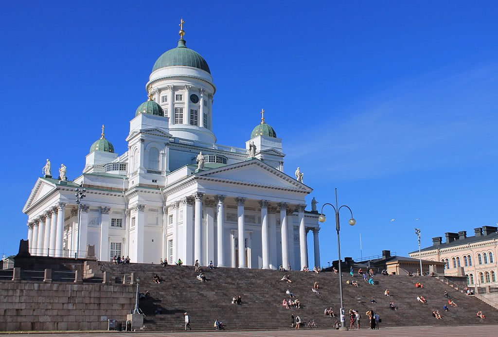 Николаевский собор в Хельсинки