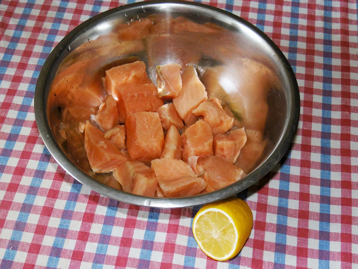 Рецепт запеченной семги