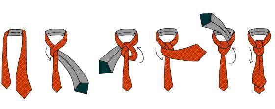 Как завязать виндзорский узел