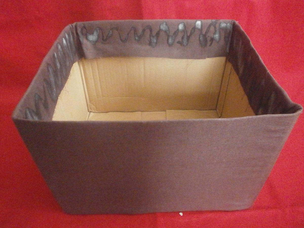 Коробка для хранения вещей своими руками