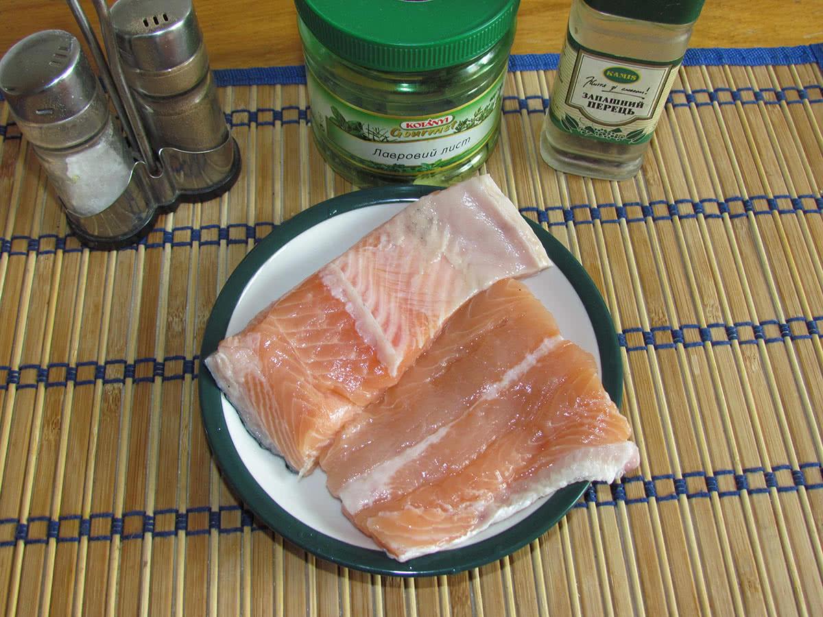 Как солить лосось в домашних условиях рецепт фото
