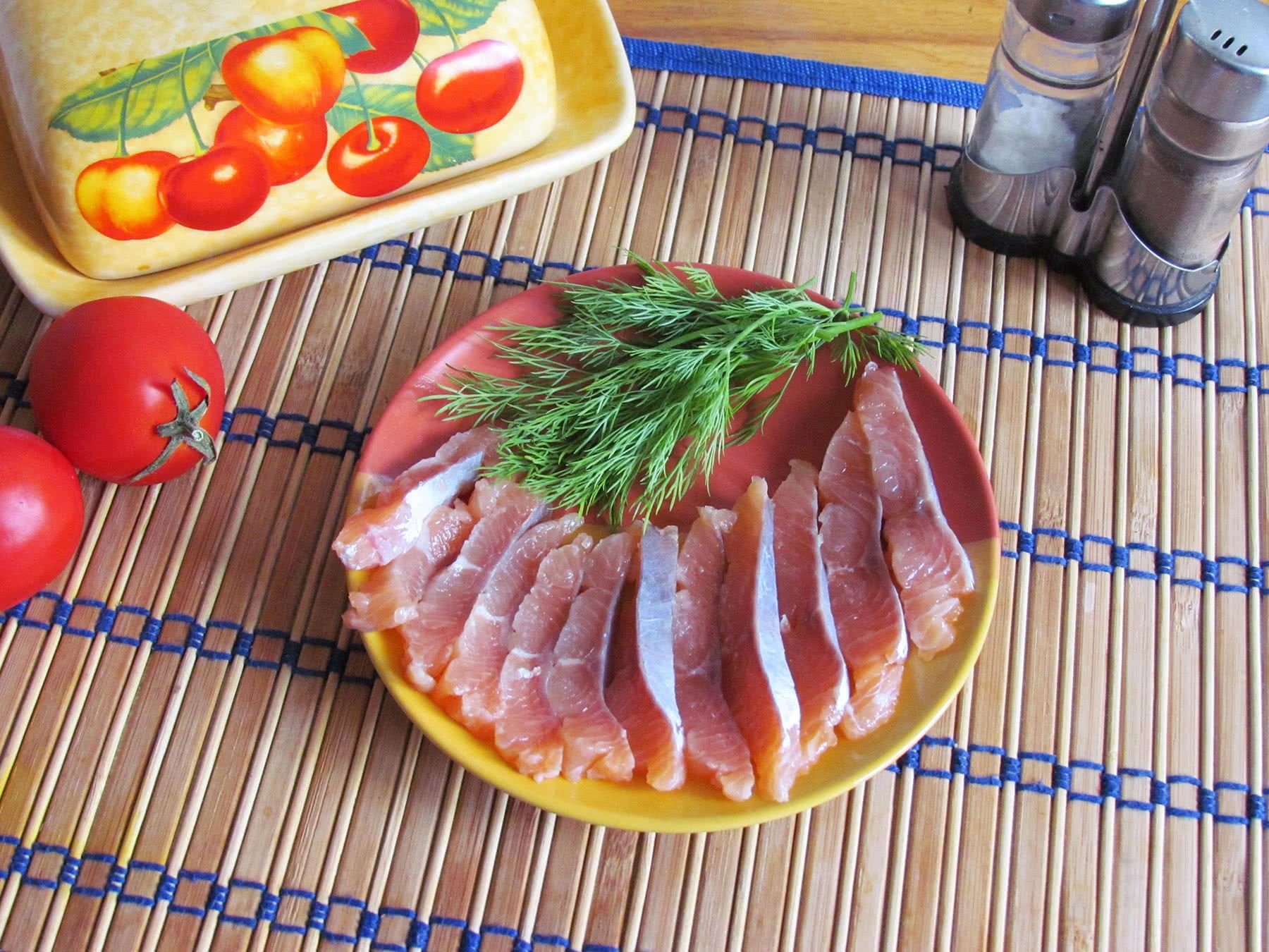 Приготовление семги пошаговое