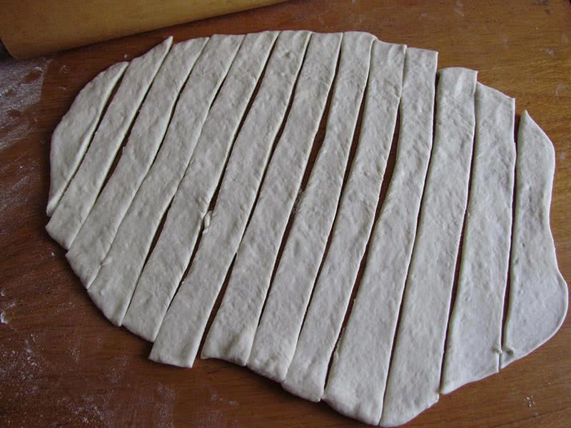 Заготовки под сосиски в тесте