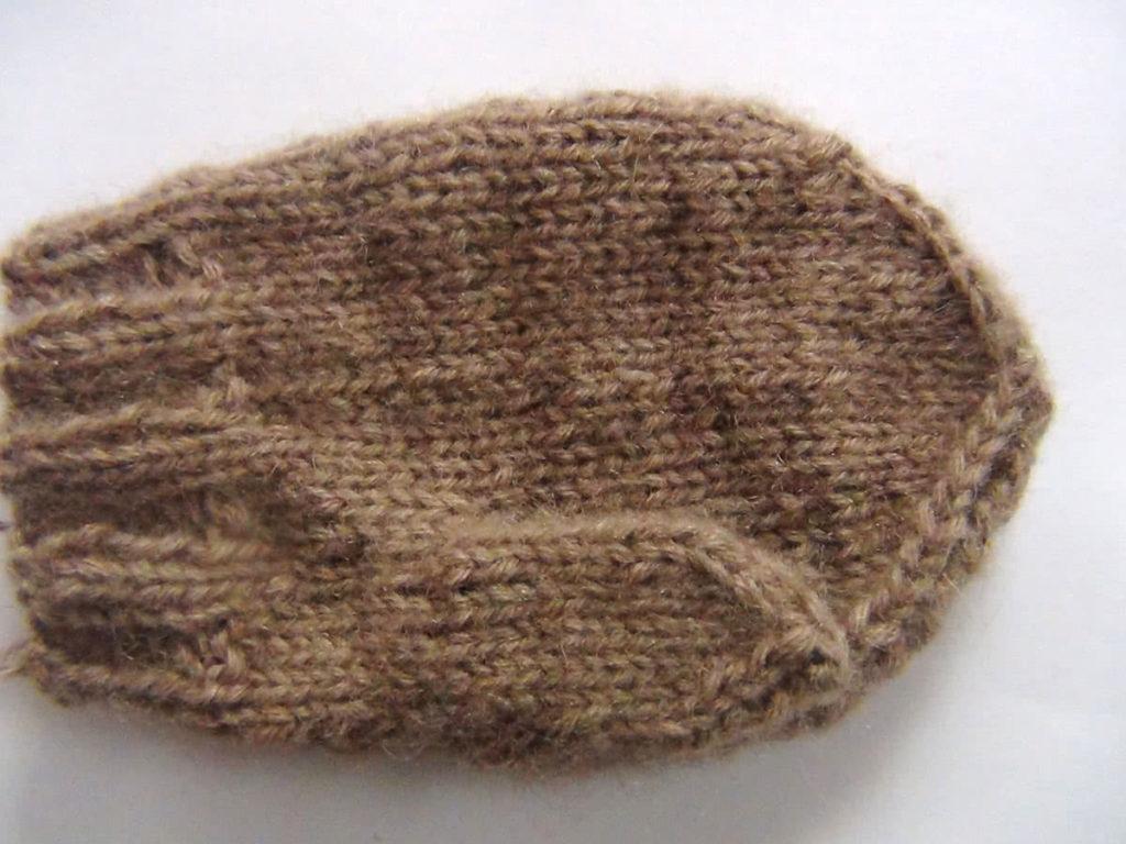 Вязание детских рукавиц
