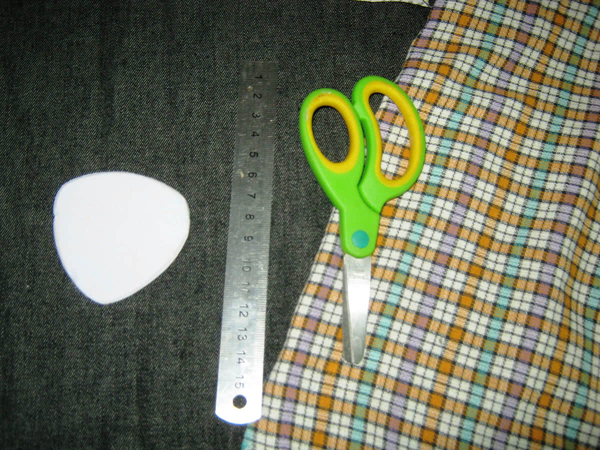Как сшить галстук-бабочку в 10 простых шагов - Ярмарка Мастеров 28