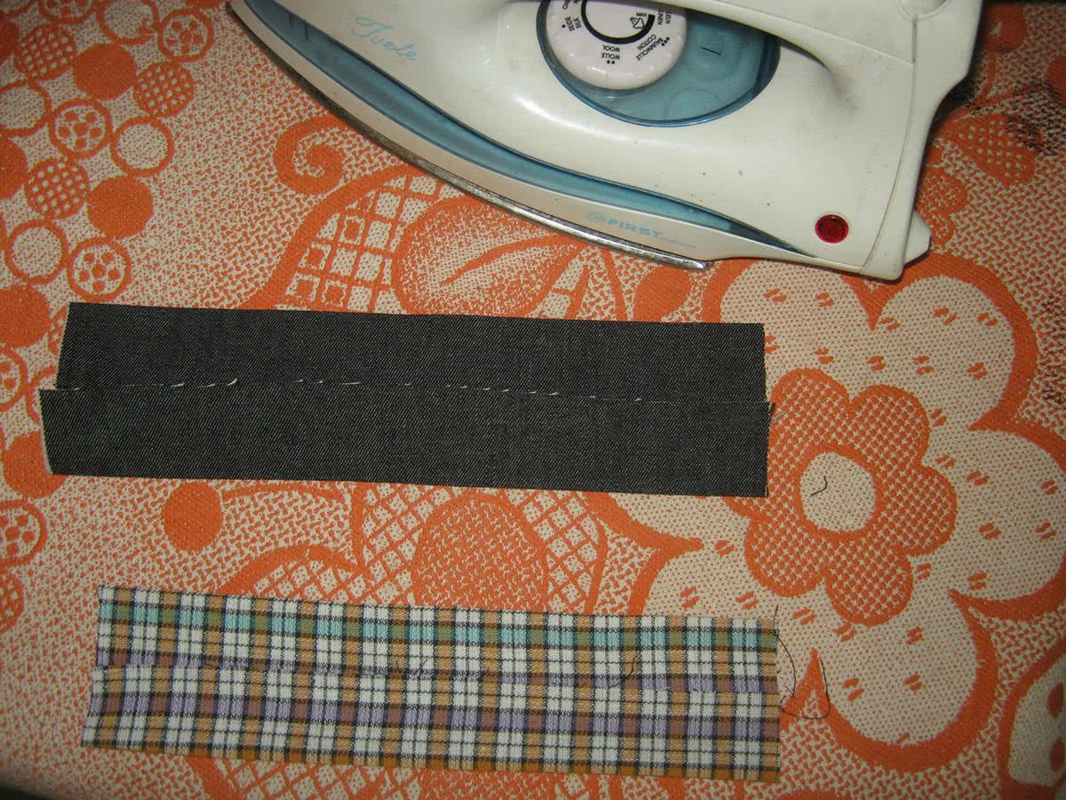 Как сшить галстук-бабочку в 10 простых шагов - Ярмарка Мастеров 21