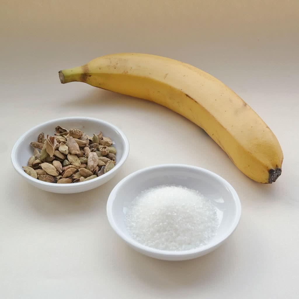 Ингредиенты для приготовления банановой карамели