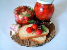 Как замариновать помидоры черри