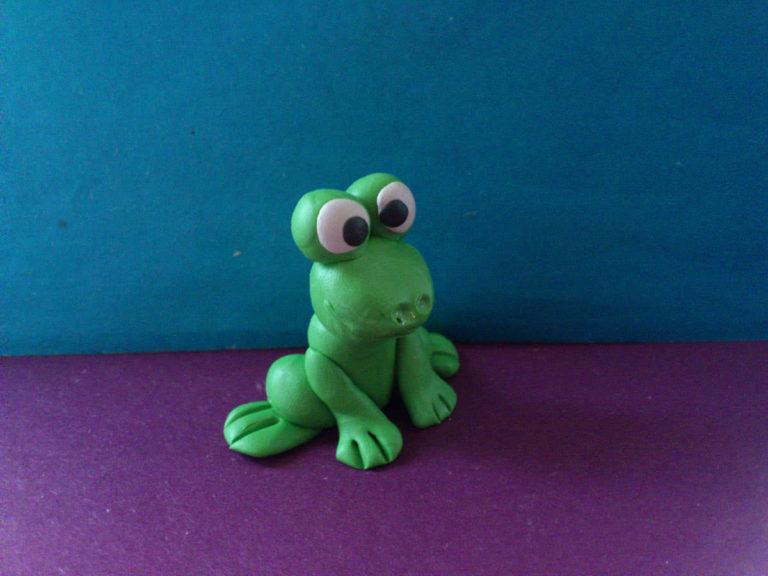 Как сделать зелёный из пластилина 273