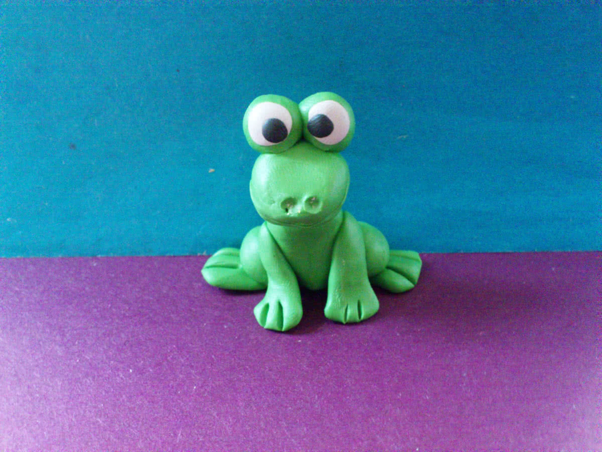 Лягушка своими руками пошагово