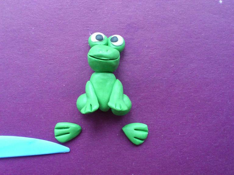 Как сделать зелёный из пластилина 295