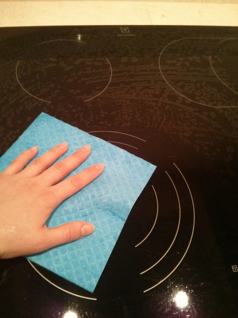 уход за стеклокерамической плитой