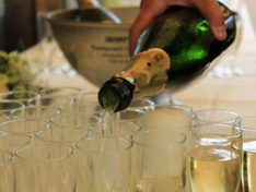 Коктейли на основе шампанского