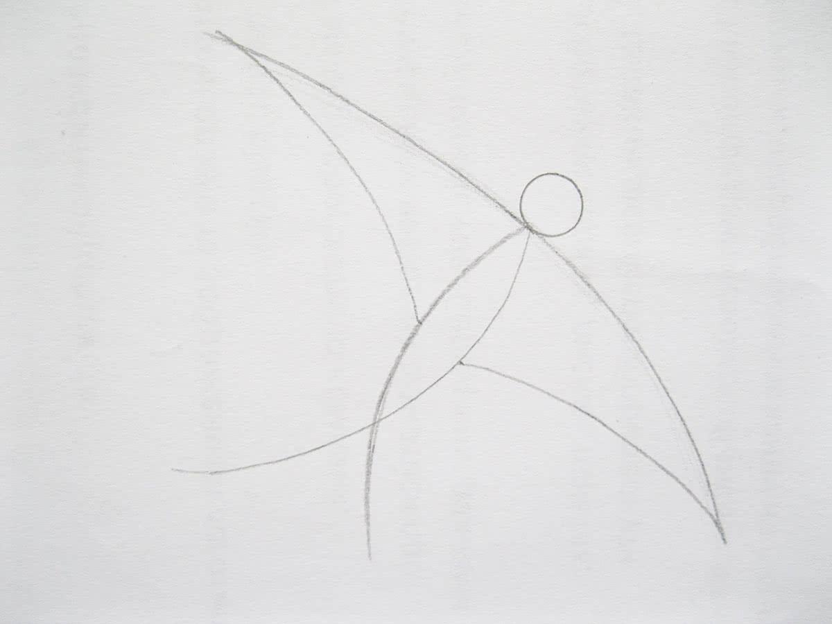 Как нарисовать ласточку