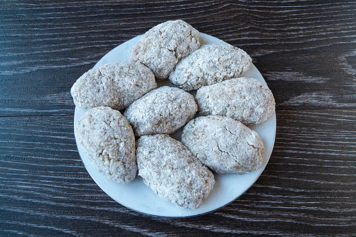 Пошаговый рецепт гречаников