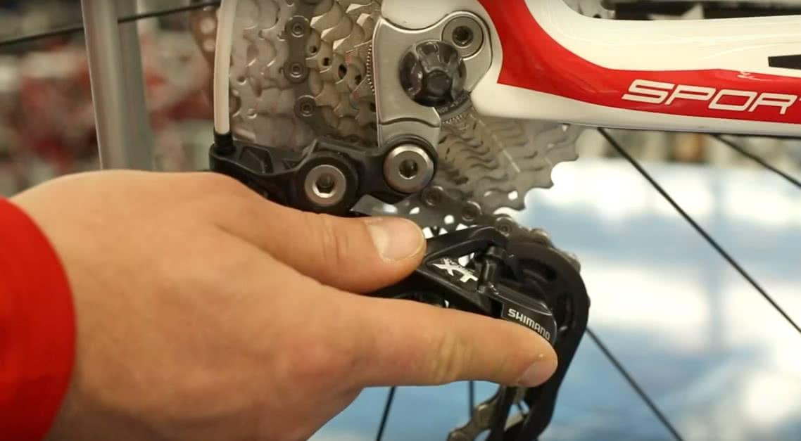 Переключение тормозов на велосипеде