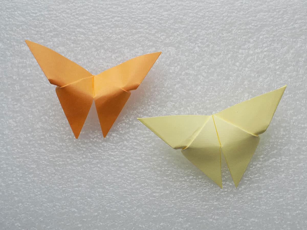 Оригами бабочка своими руками