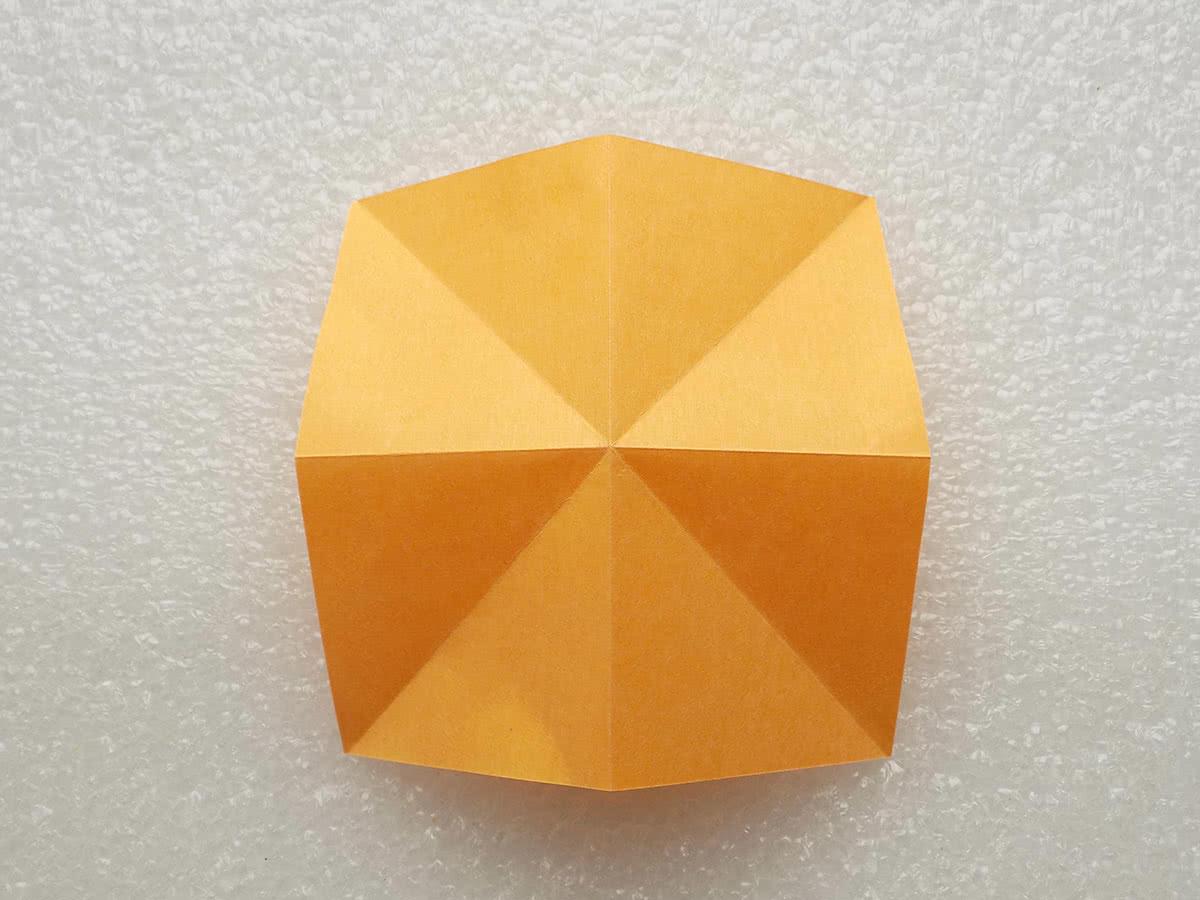 Оригами бабочка шаг 2