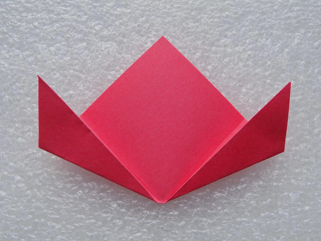 оригами цветок шаг 6
