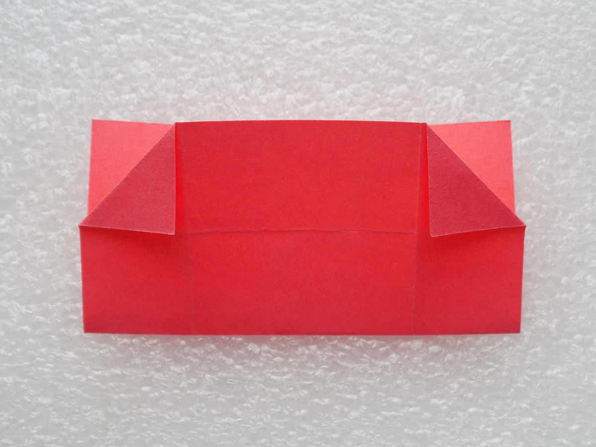 Оригами коробочка шаг 10