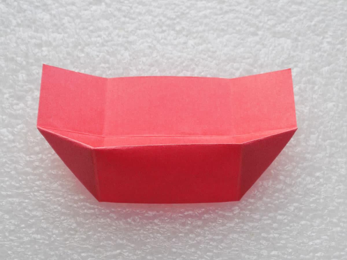 Оригами коробочка шаг 12