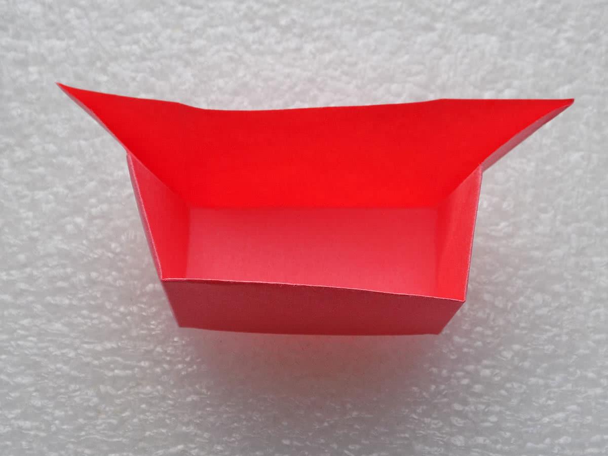 Оригами коробочка шаг 15