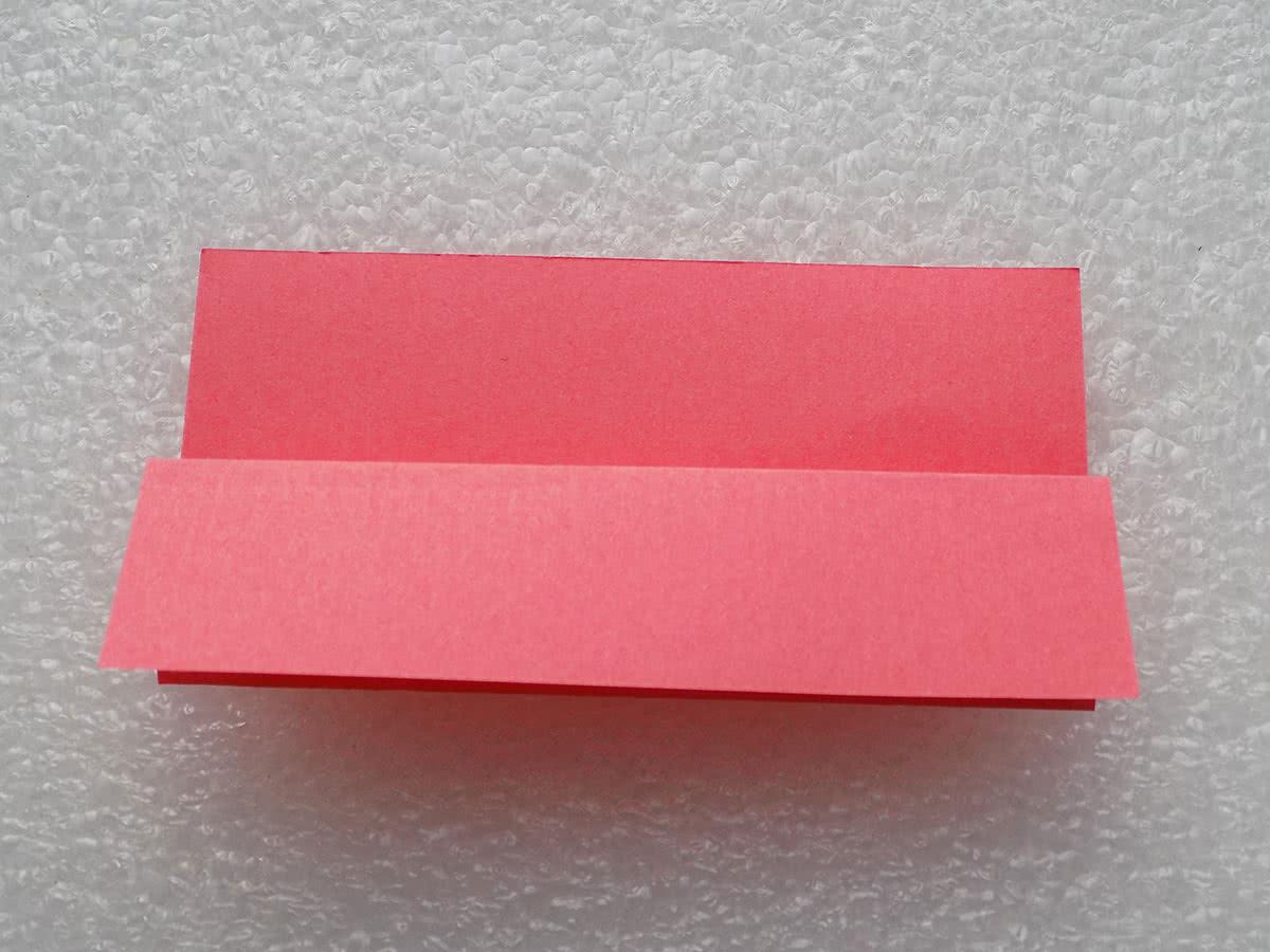 Оригами коробочка шаг 3