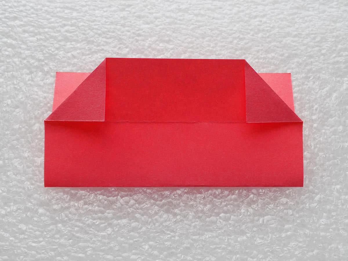Оригами коробочка шаг 6