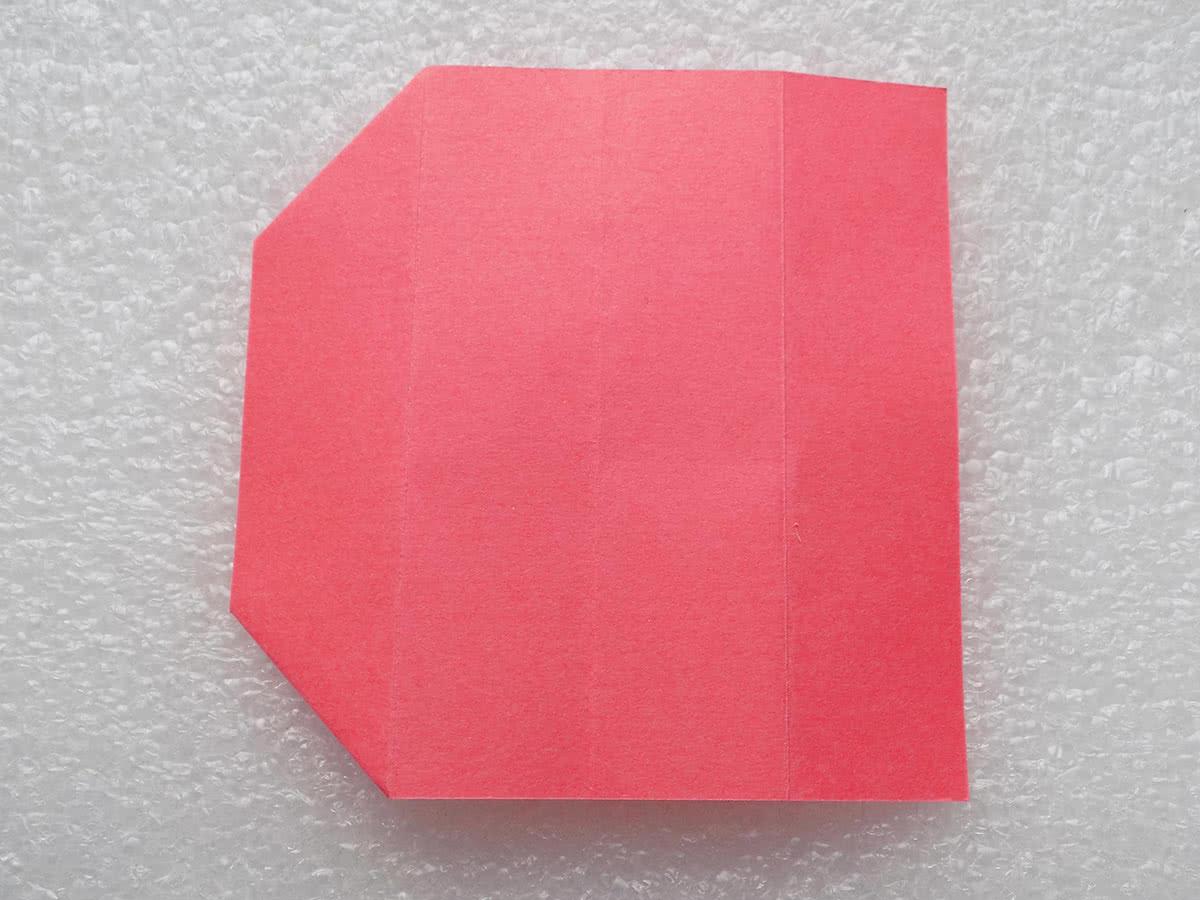 Оригами коробочка шаг 7