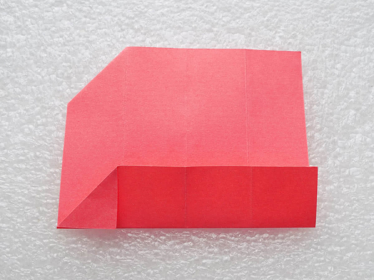 Оригами коробочка шаг 8