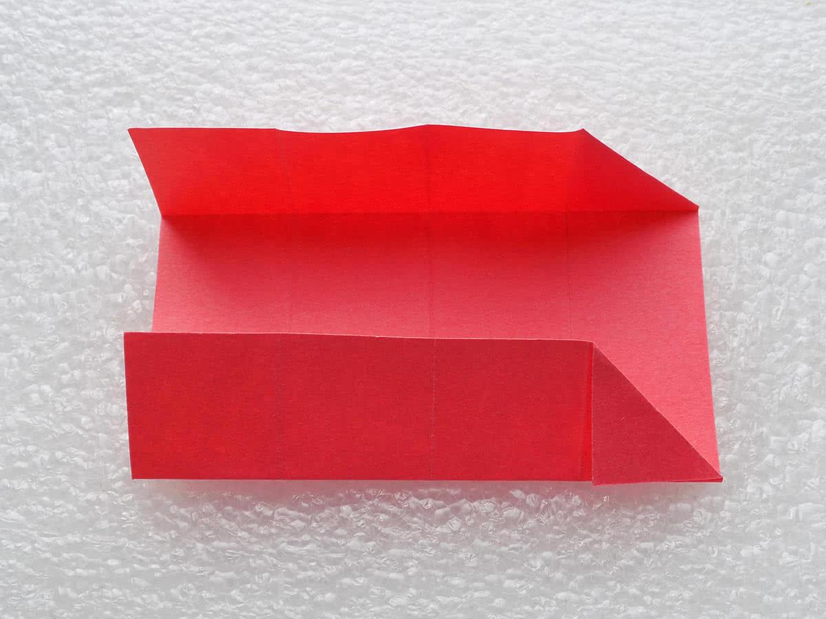 Оригами коробочка шаг 9
