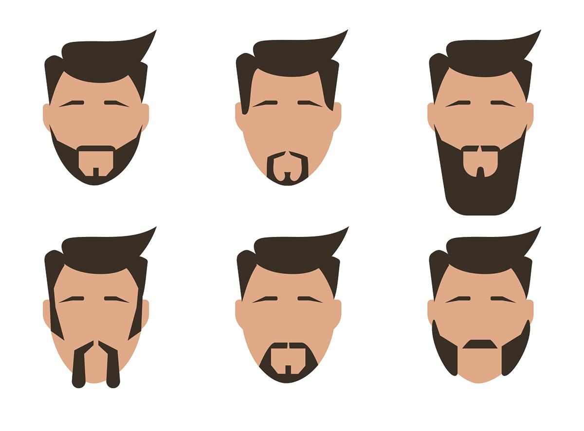 Виды бороды