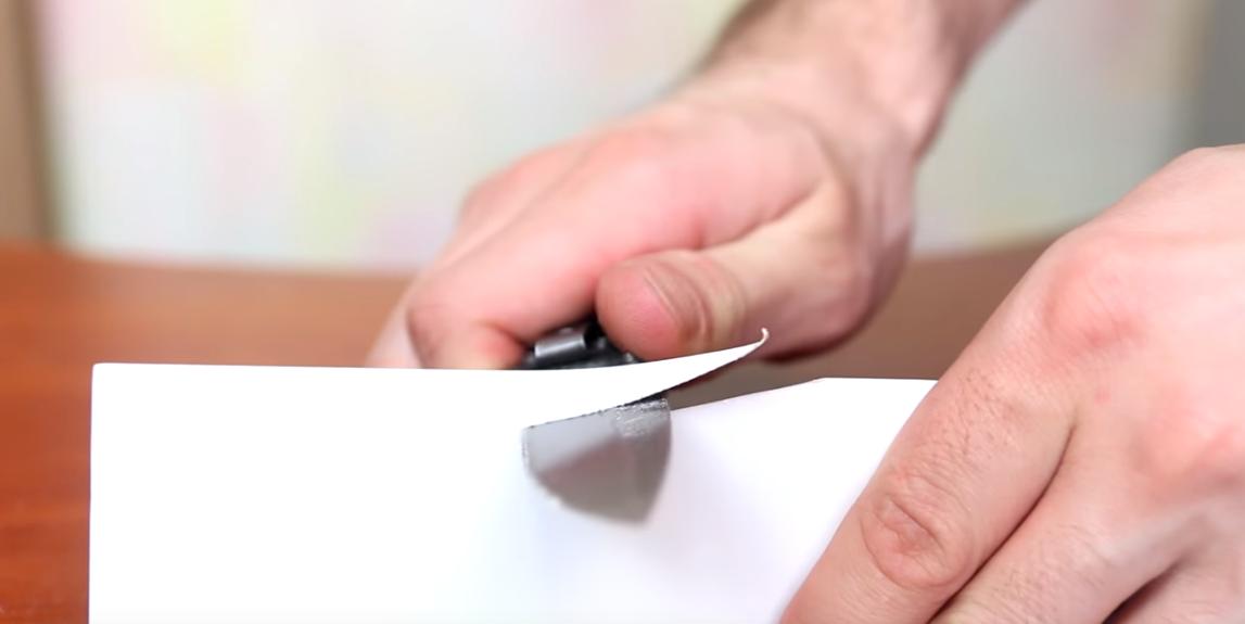 Как сделать нож острым