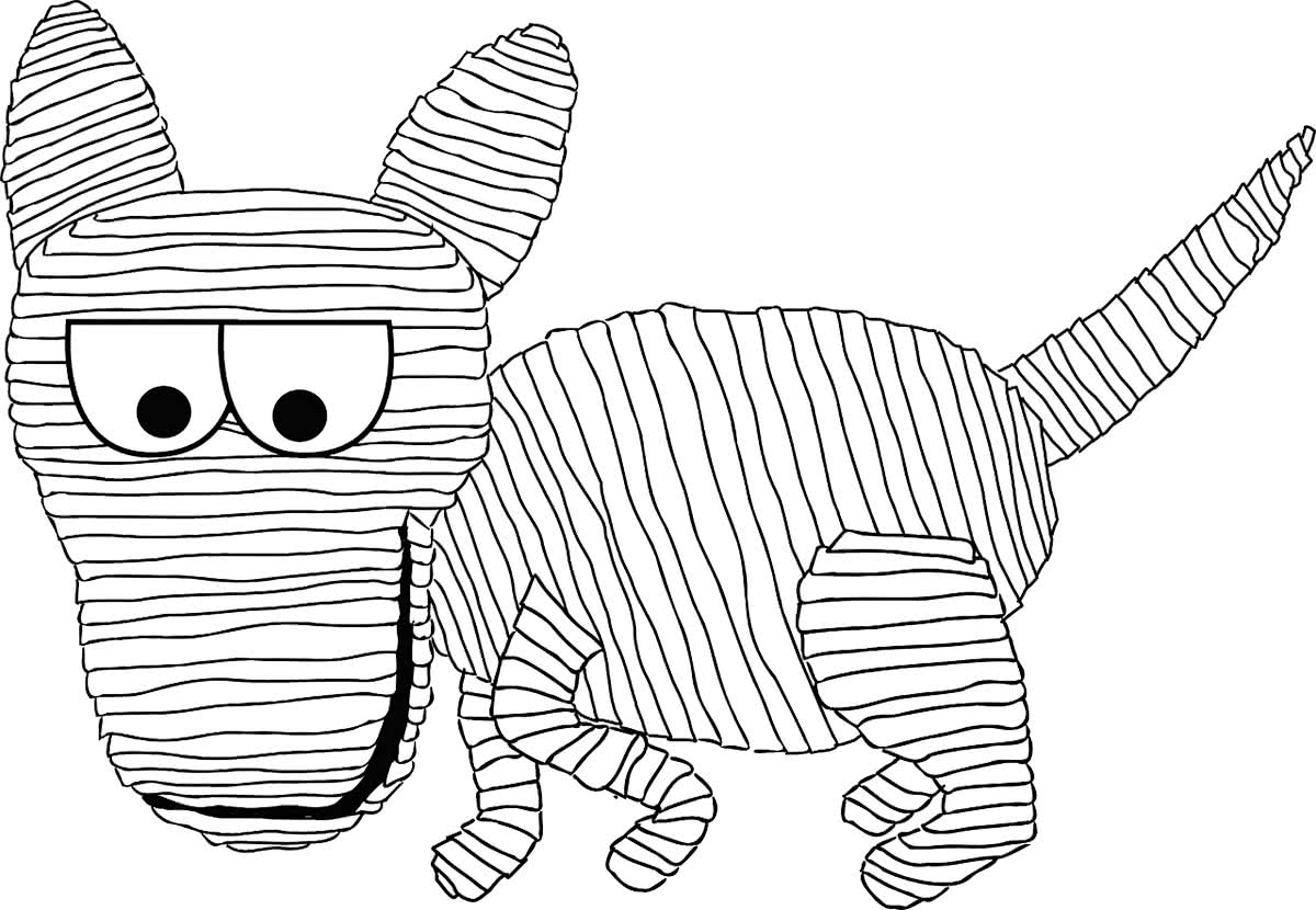 Кошки мумия