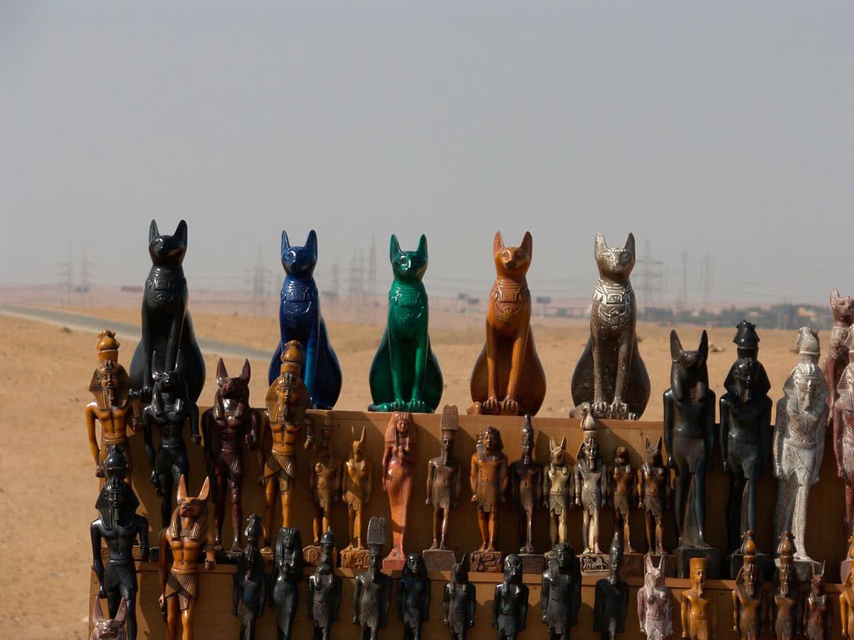 Торговля кошками в древнем Египте