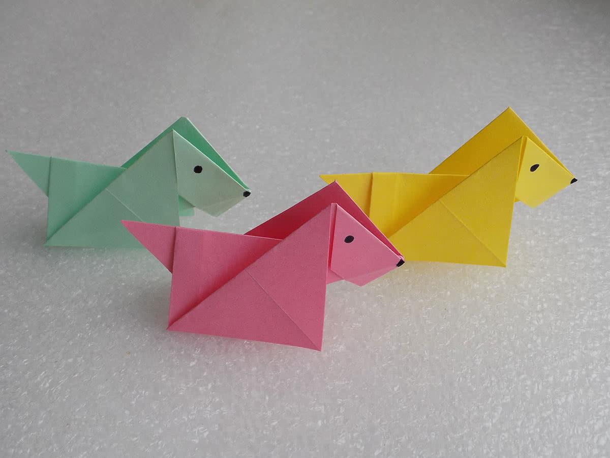 Из бумаги своими руками оригами