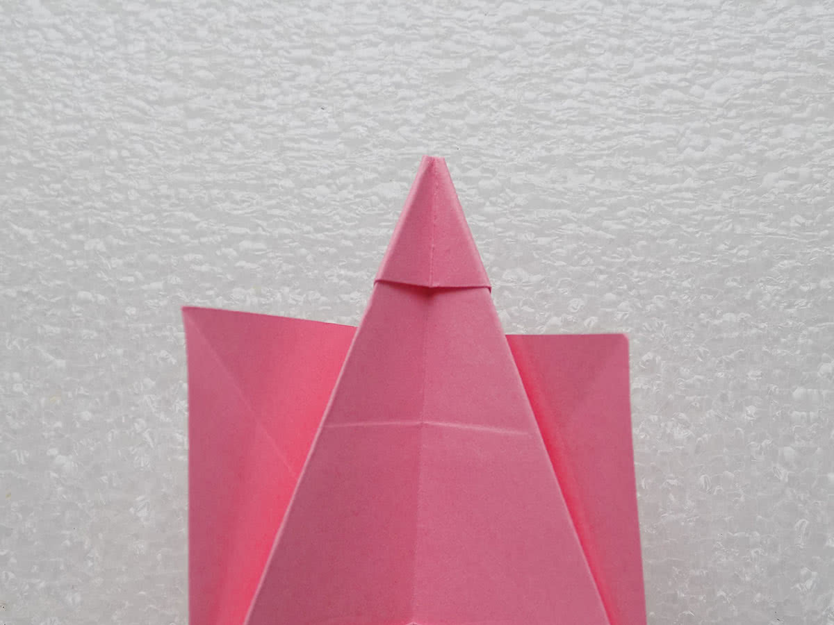 Собака оригами шаг 11