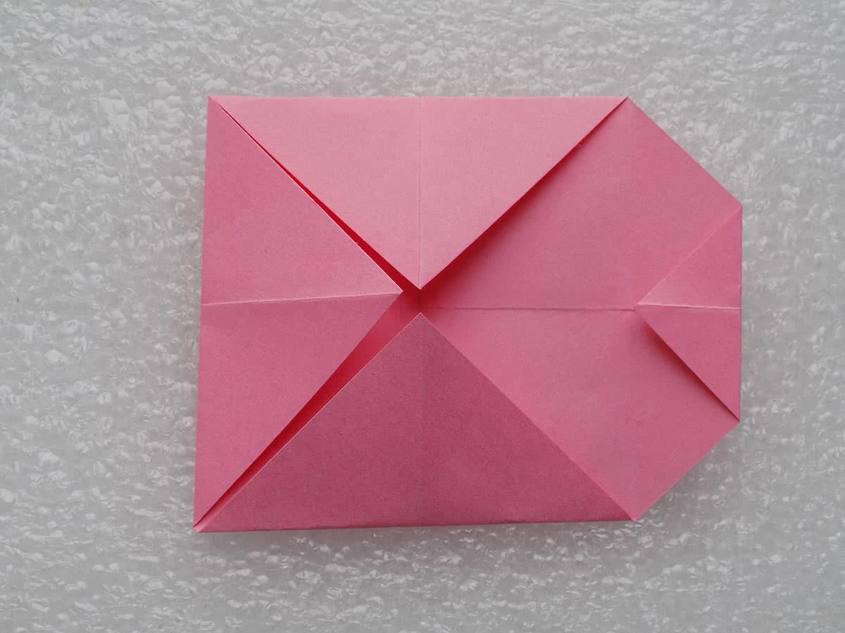 Собака оригами шаг 5