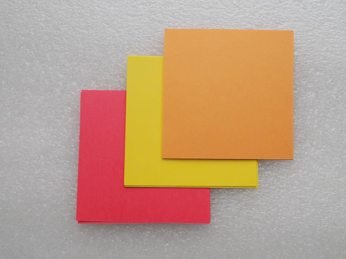 Бумага для солнца в технике оригами