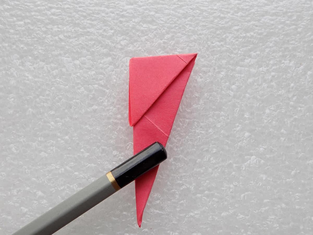 Солнце оригами шаг 5