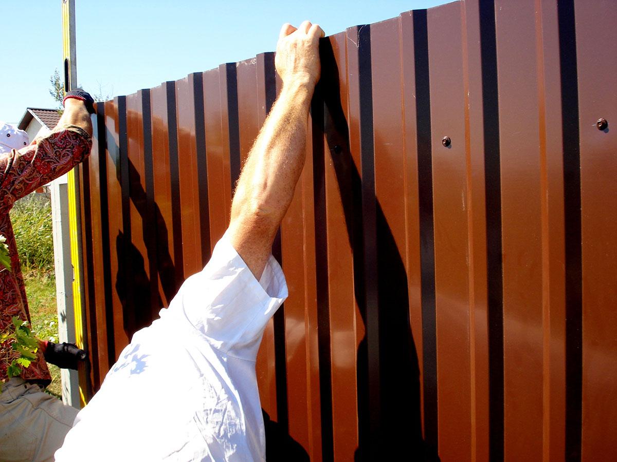 Профлист на забор