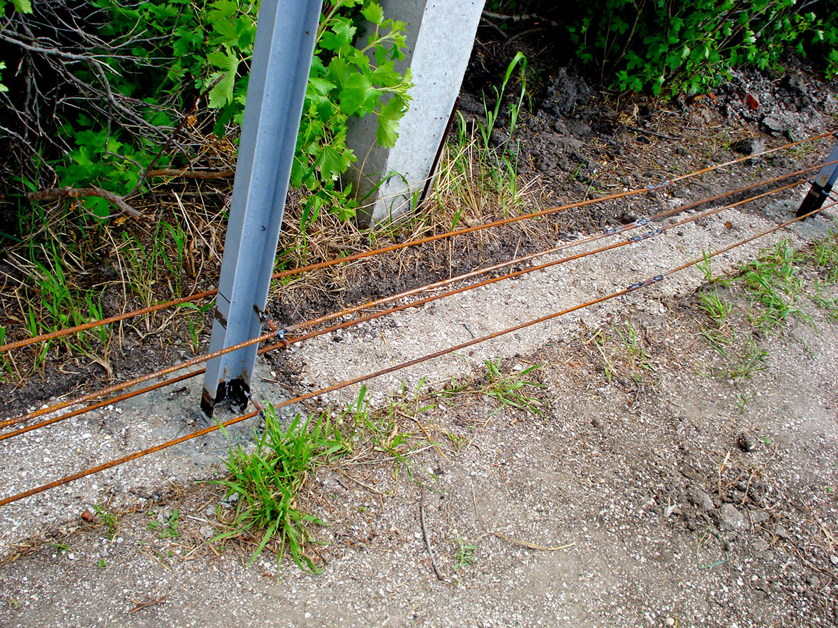 Армирование бетонного бордюра