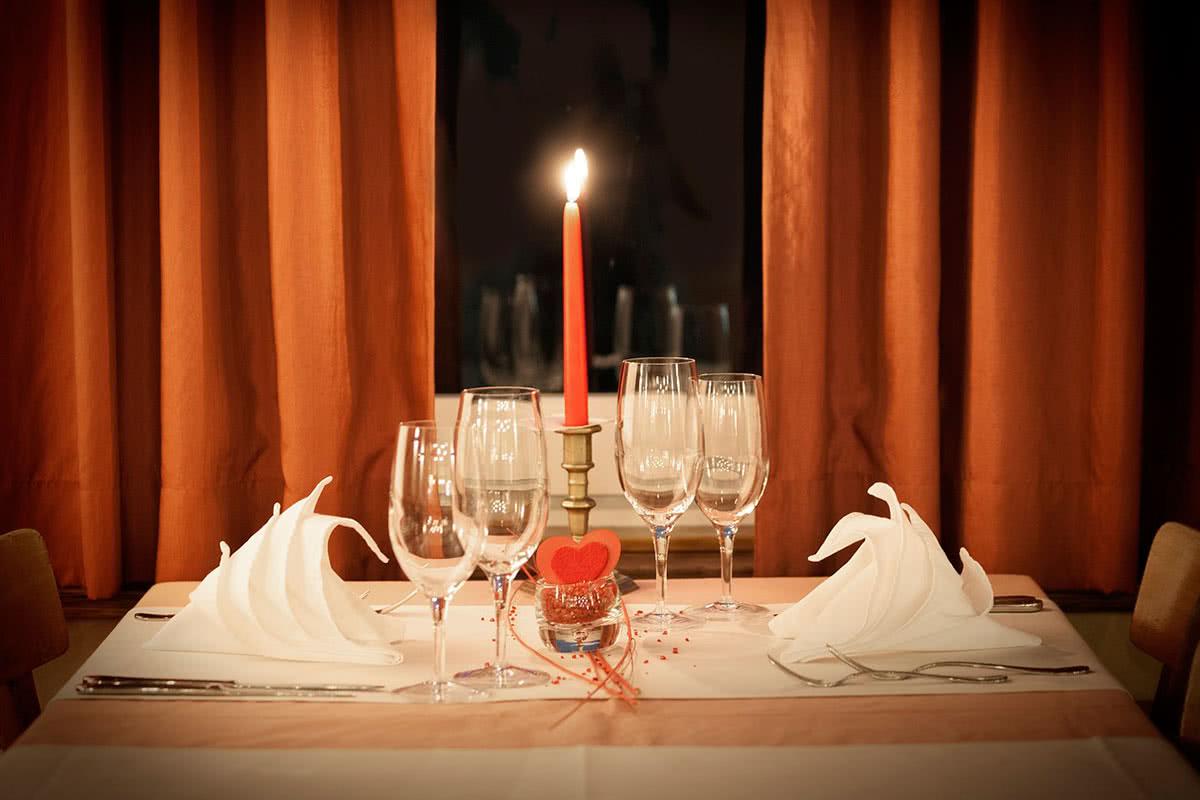 Романтический ужин для мужа