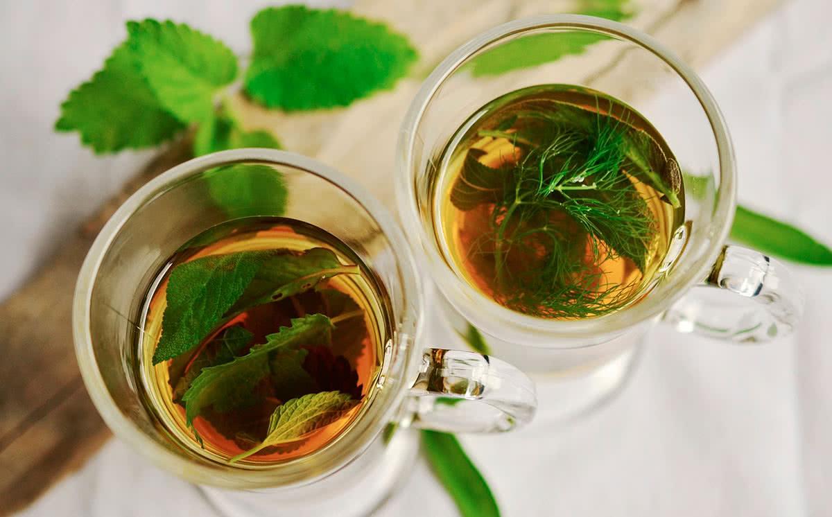 Польза чая с мятой