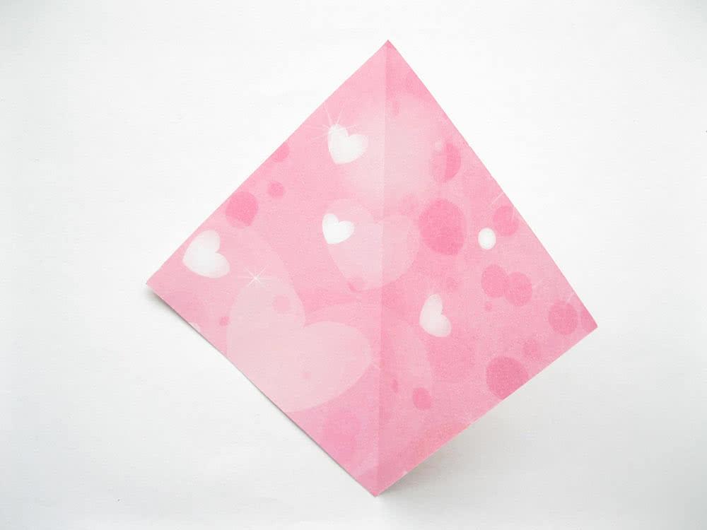 Мороженое оригами шаг 2