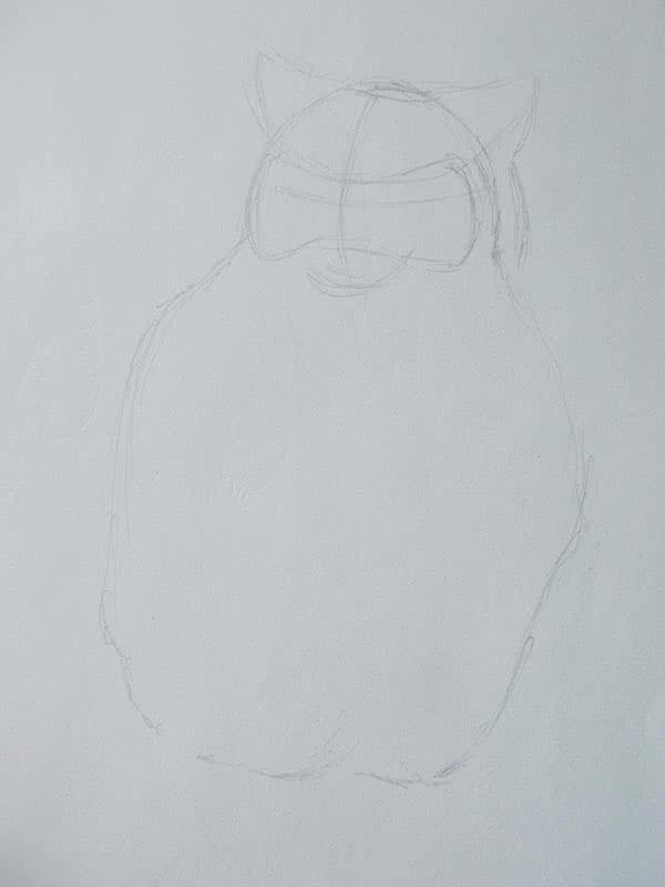 Нарисовать сову