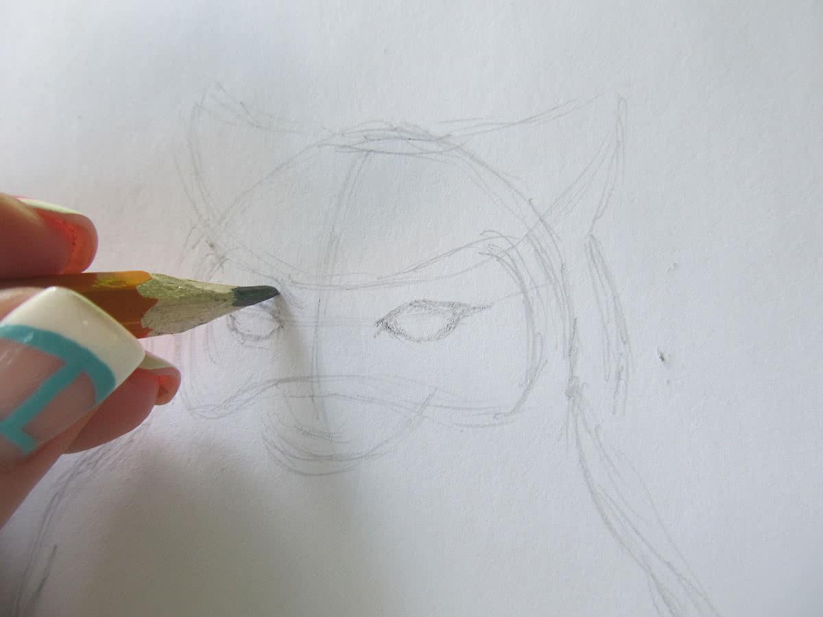 Рисуем сову