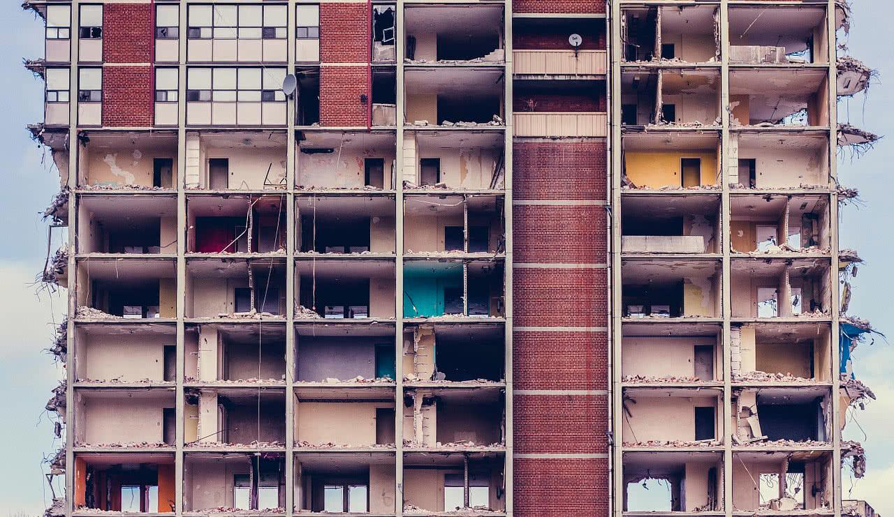 Башне Признание аварийности здания спокойное